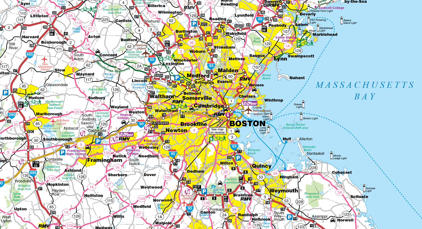 Map Boston Area Suburbs U2013 Bnhspine.com