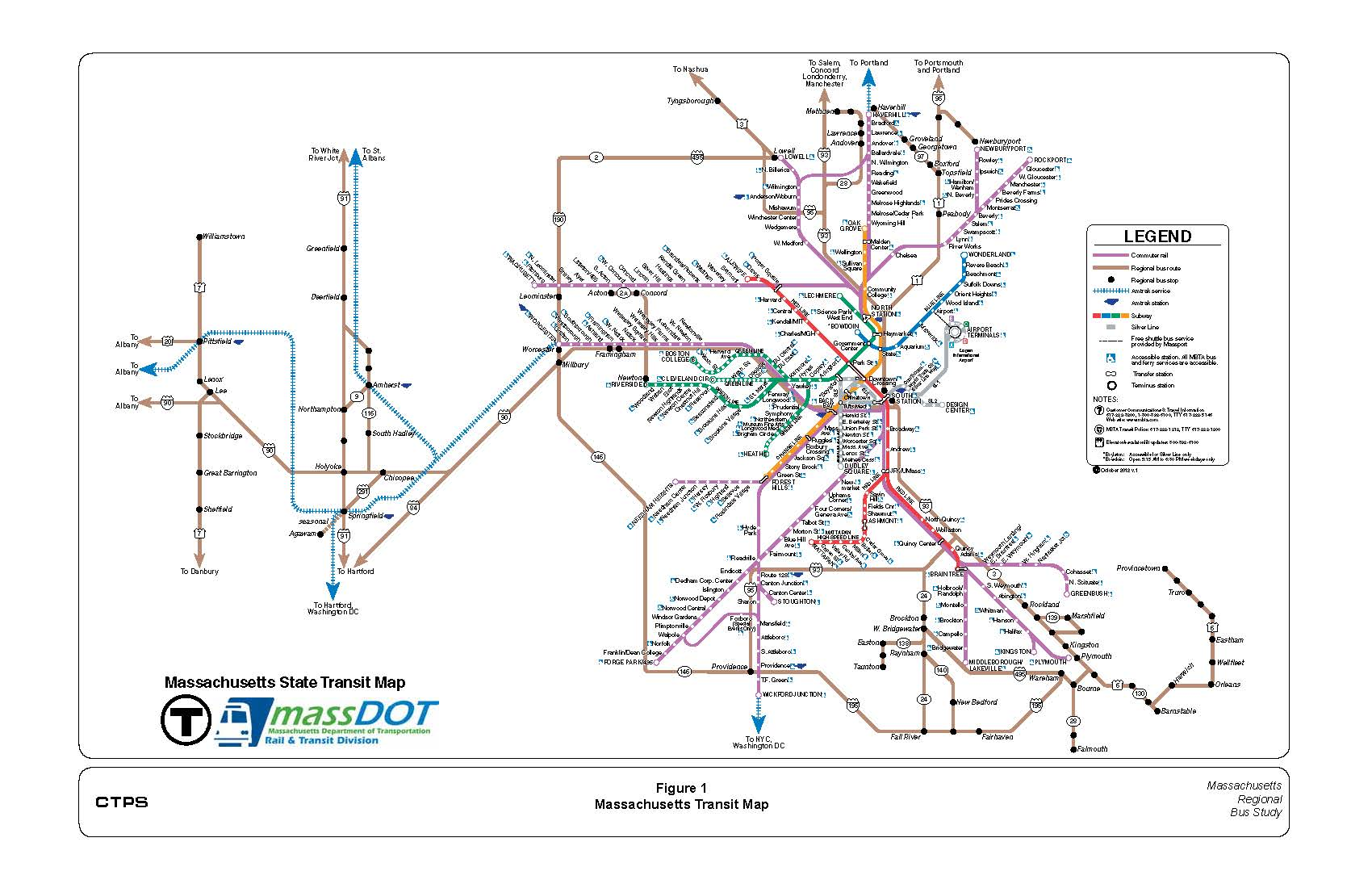 chapter 2 - the regional bus network: recent evolution and