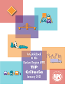 Cover of A Guidebook to the Boston Region MPO TIP Criteria January 2021