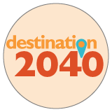 Destination 2040 Logo