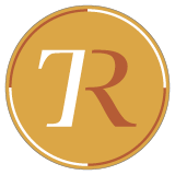 Transreport logo, a stylized T and R on an orange background.